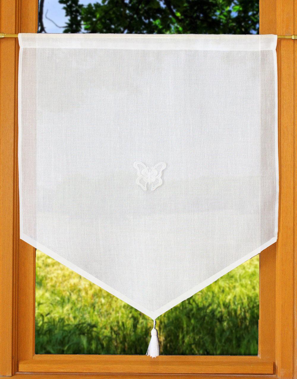 pointe papillon et pompon with voilage papillon. Black Bedroom Furniture Sets. Home Design Ideas