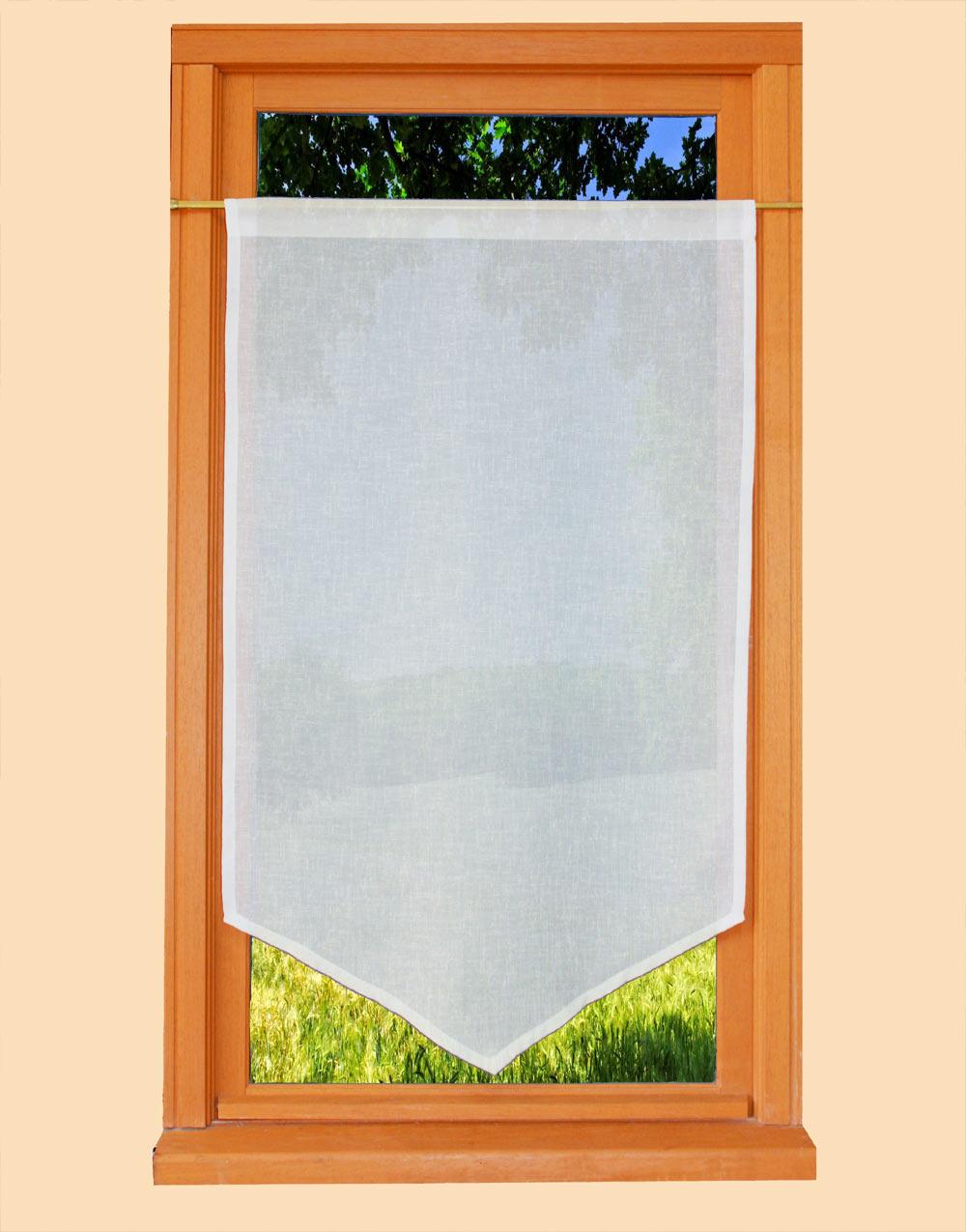 pointe ivoire imitation voile de lin