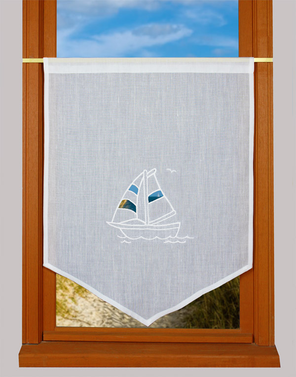 Brise bise voilier - Rideau style bord de mer ...