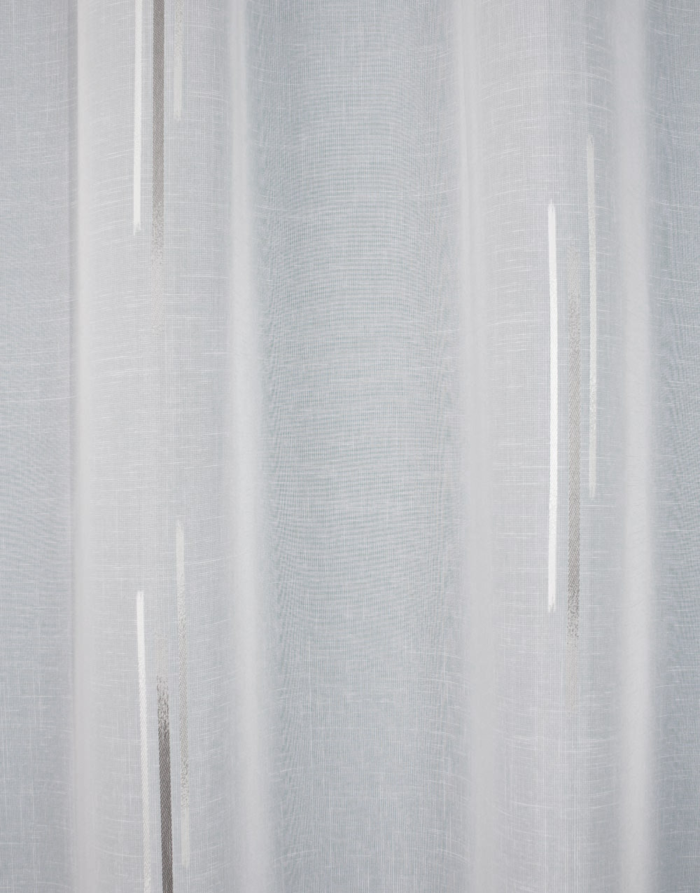 voilages style contemporain motif gris ou beige au m tre. Black Bedroom Furniture Sets. Home Design Ideas