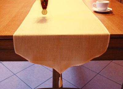 Chemins de table en v ritable macram brod - Chemin de table lin ...