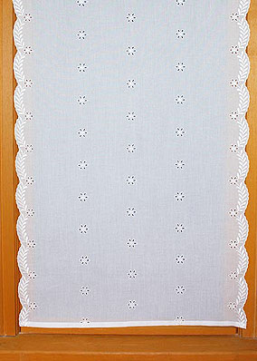 "Rideau ""Broderie Anglaise"""