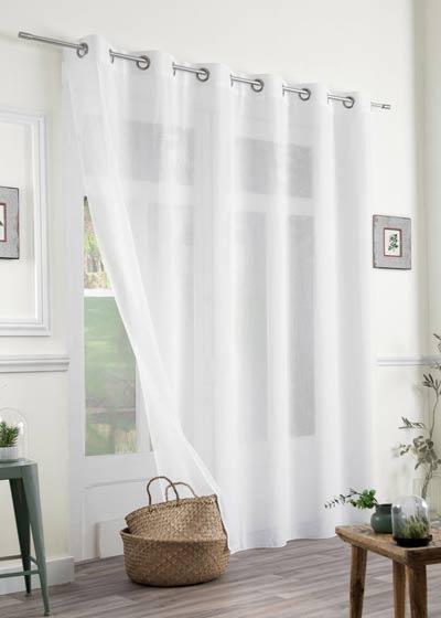 voilages sur mesure ou au m tre. Black Bedroom Furniture Sets. Home Design Ideas