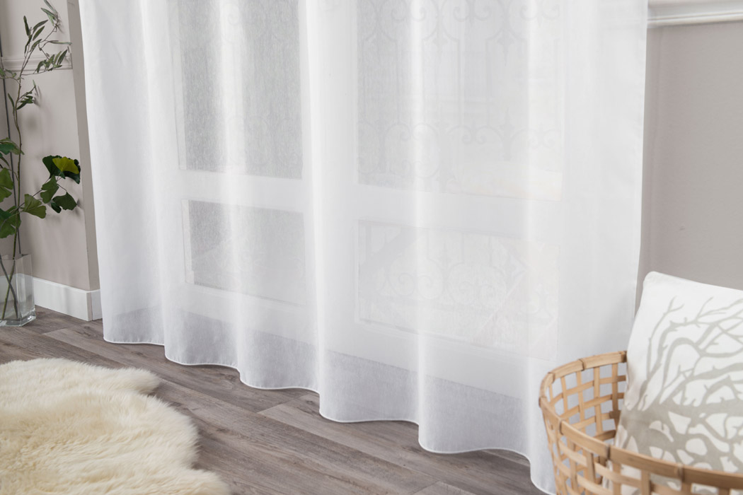 rideaux brise bise et voilage en macram brod. Black Bedroom Furniture Sets. Home Design Ideas